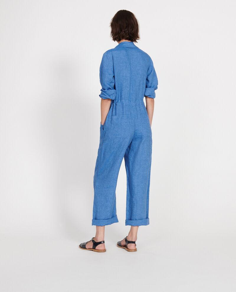 Linen jumpsuit Indigo Lachassain