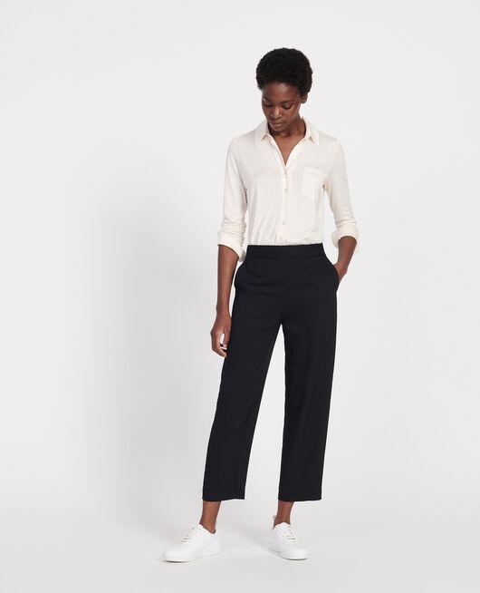 Straight-leg trousers BLACK BEAUTY