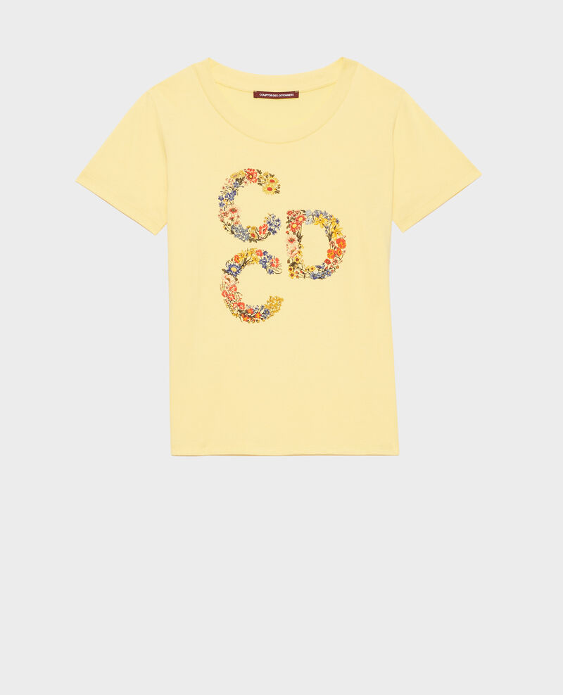 Short-sleeve cotton t-shirt Lemon drop Mae
