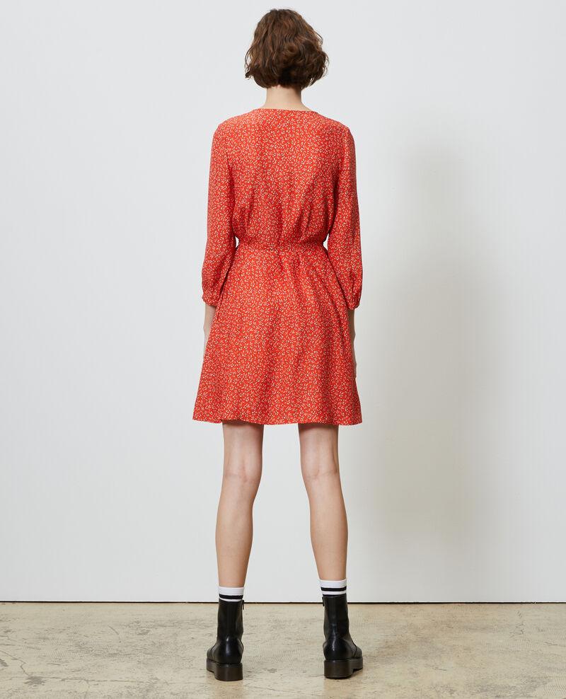 Silk wrap dress Clochette spicy Nireclos