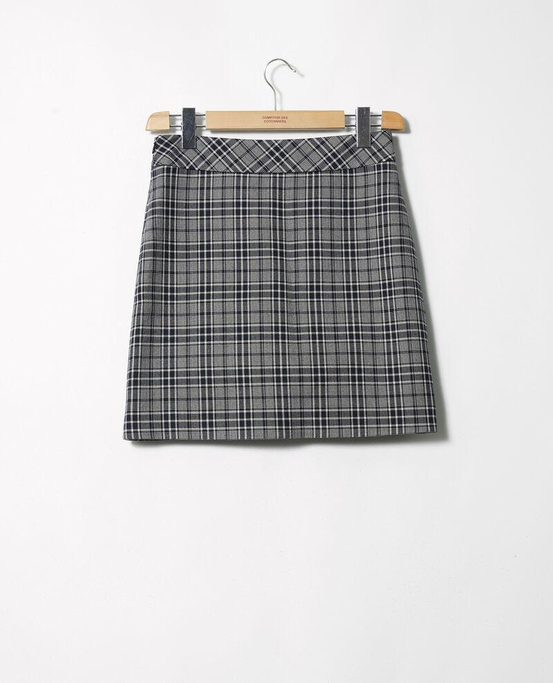Straight skirt Prince de galles Joukou