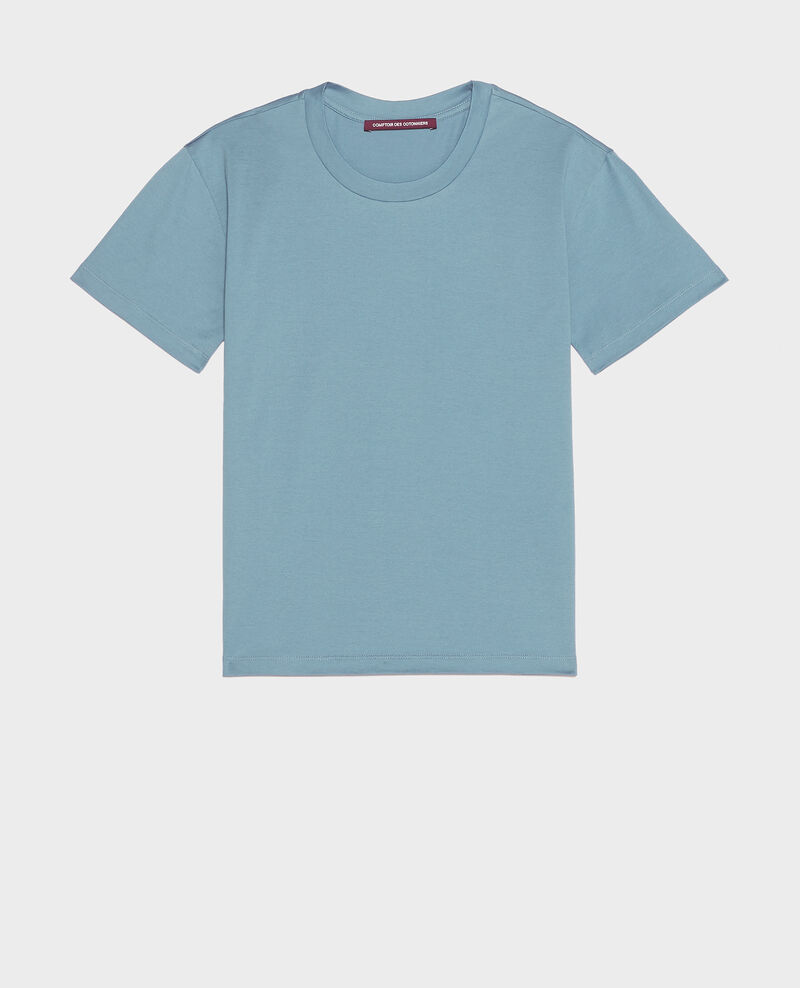 Round neck cotton t-shirt Bluestone Lirous