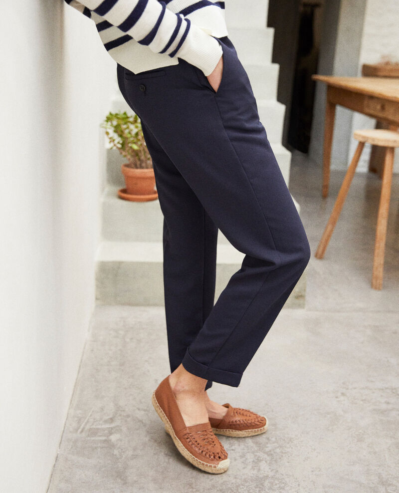 Carrot trousers Navy Iouioui