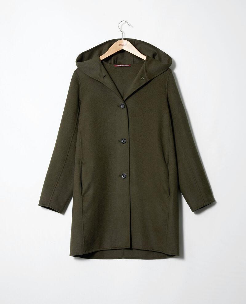 Double-sided hooded coat Deep depths Jarbin