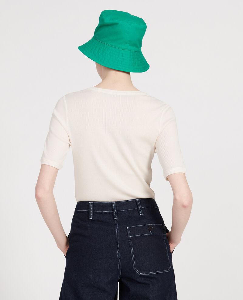 Mercerised cotton T-shirt Buttercream Lasso