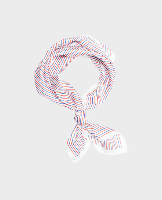 Silk scarf SURF THE WEB