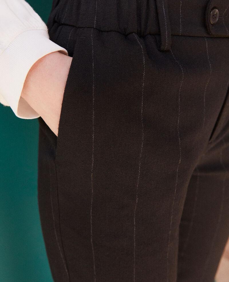 Carrot trousers Black Galetta