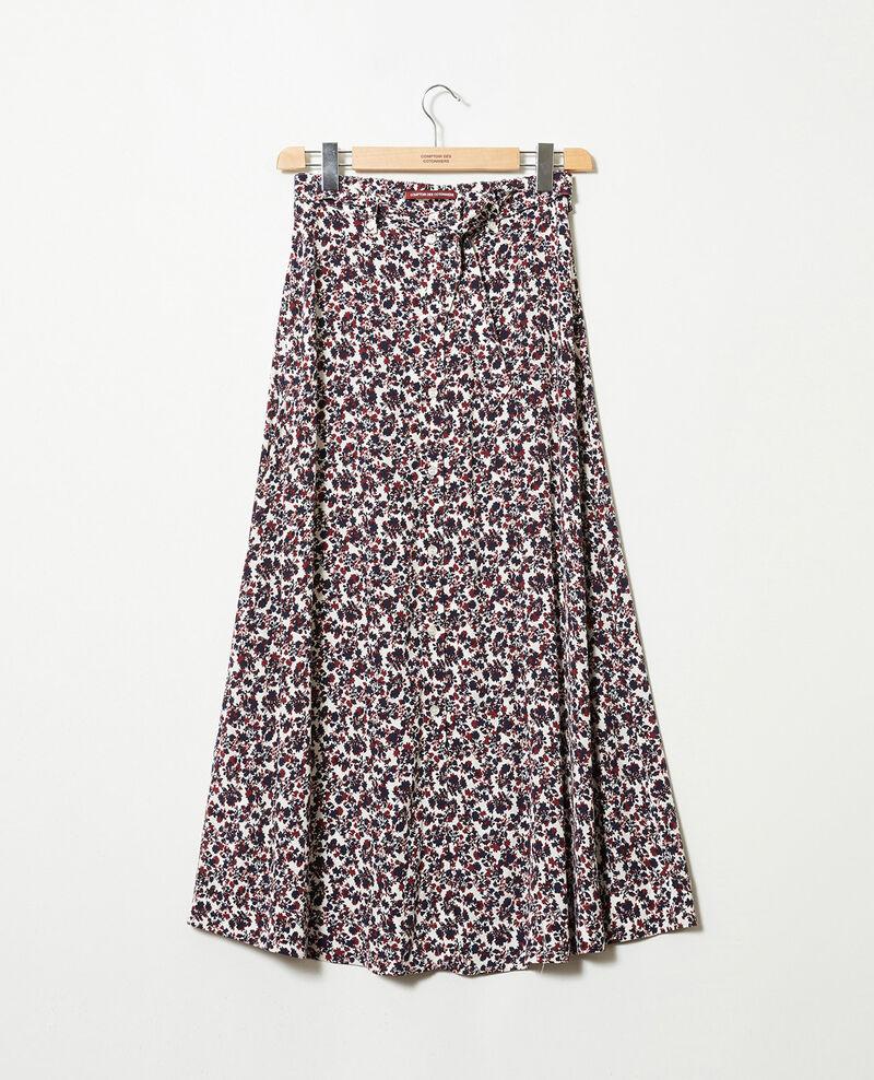 Printed maxi skirt Nf coconut milk Jura