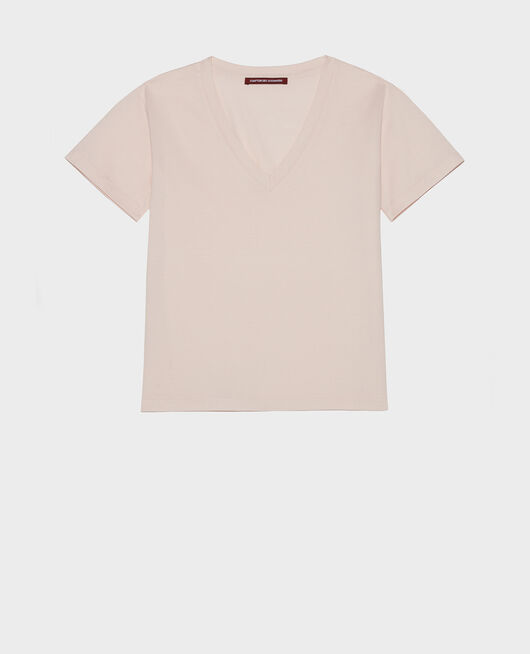 Cotton t-shirt PRIMROSE PINK