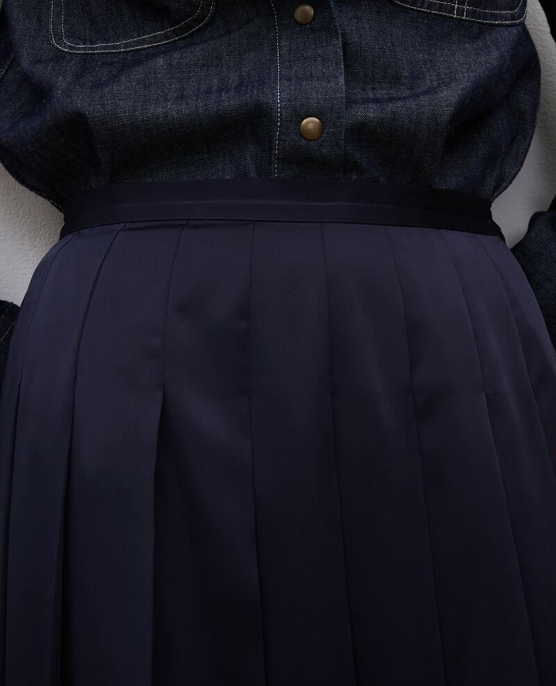 Maxi flat pleat skirt Night sky Mialas