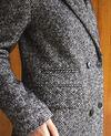 Timeless tailored coat Black Gurguy