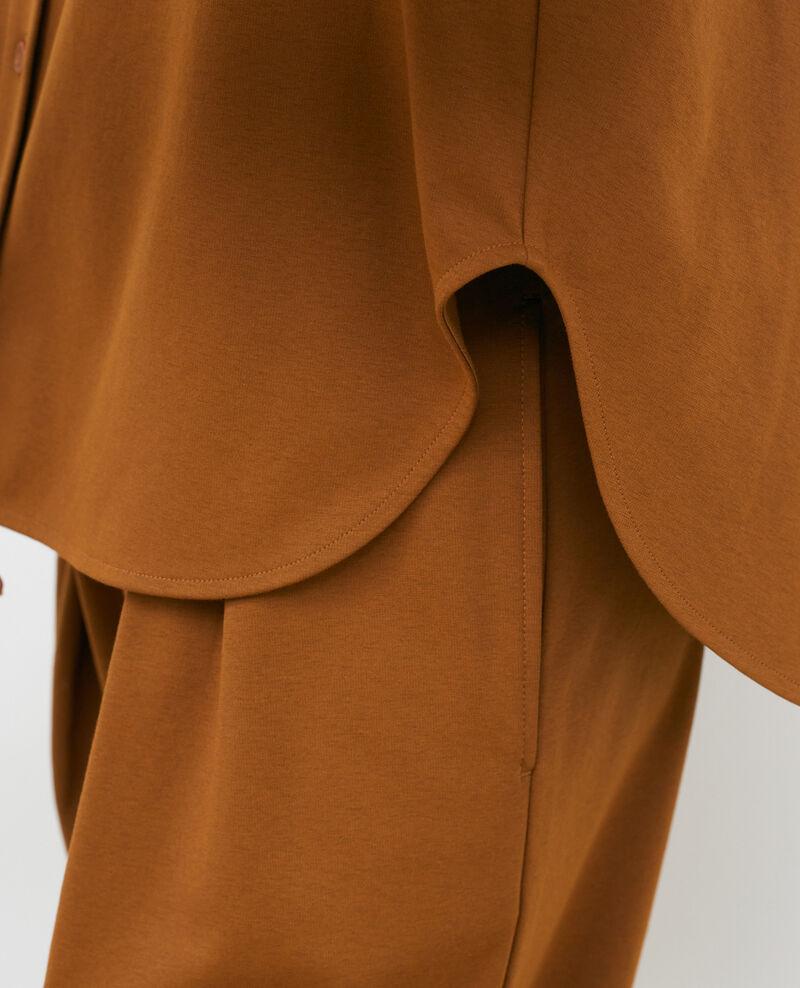 Mandarin collar shirt Monks robe Piblange