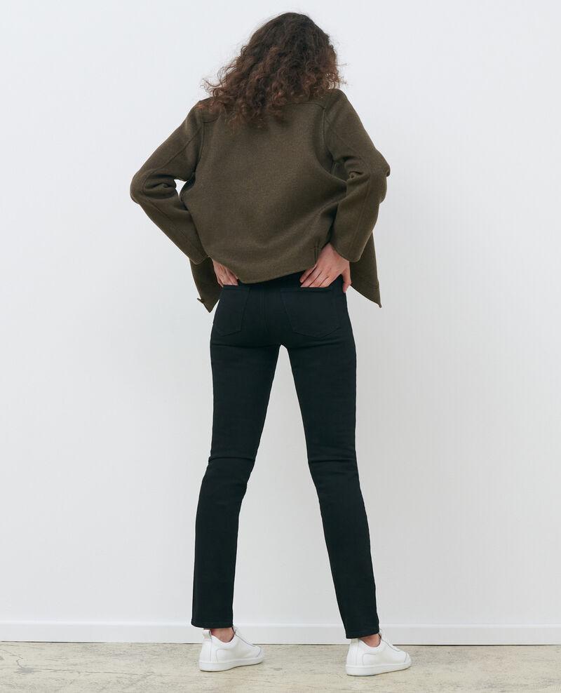 LILI - SLIM - Black 5 pocket jeans Noir denim Pandrac