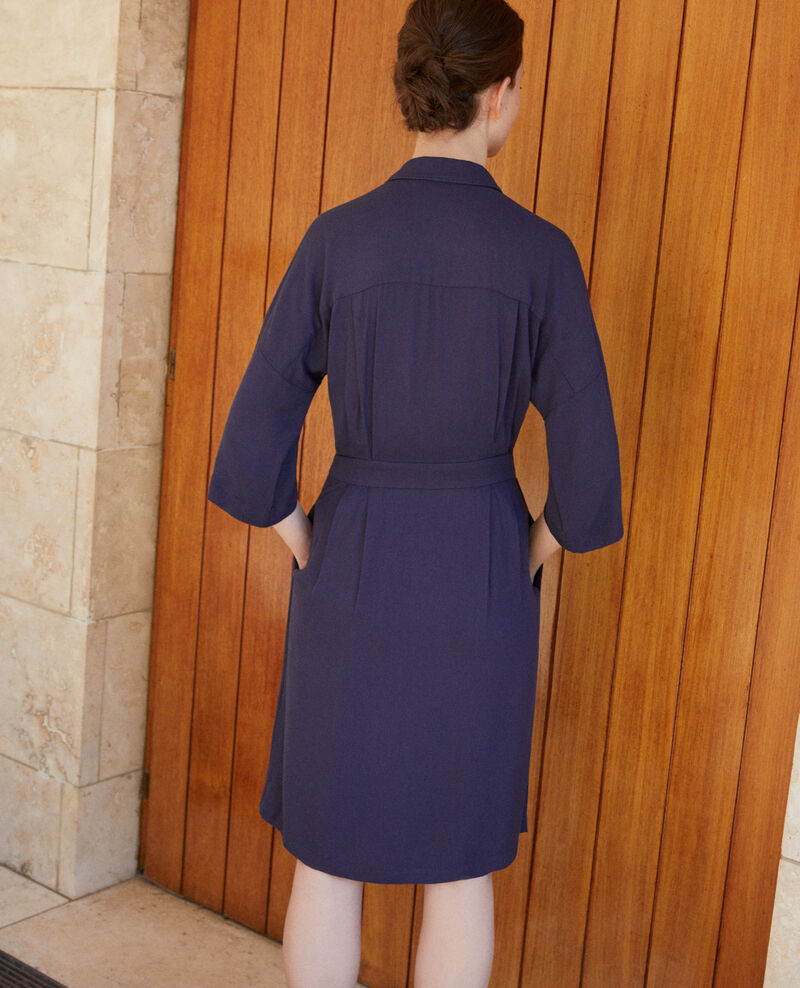 Wrap dress Blue Guichard