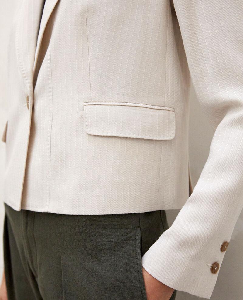Short blazer Dust beige/off white Ireille