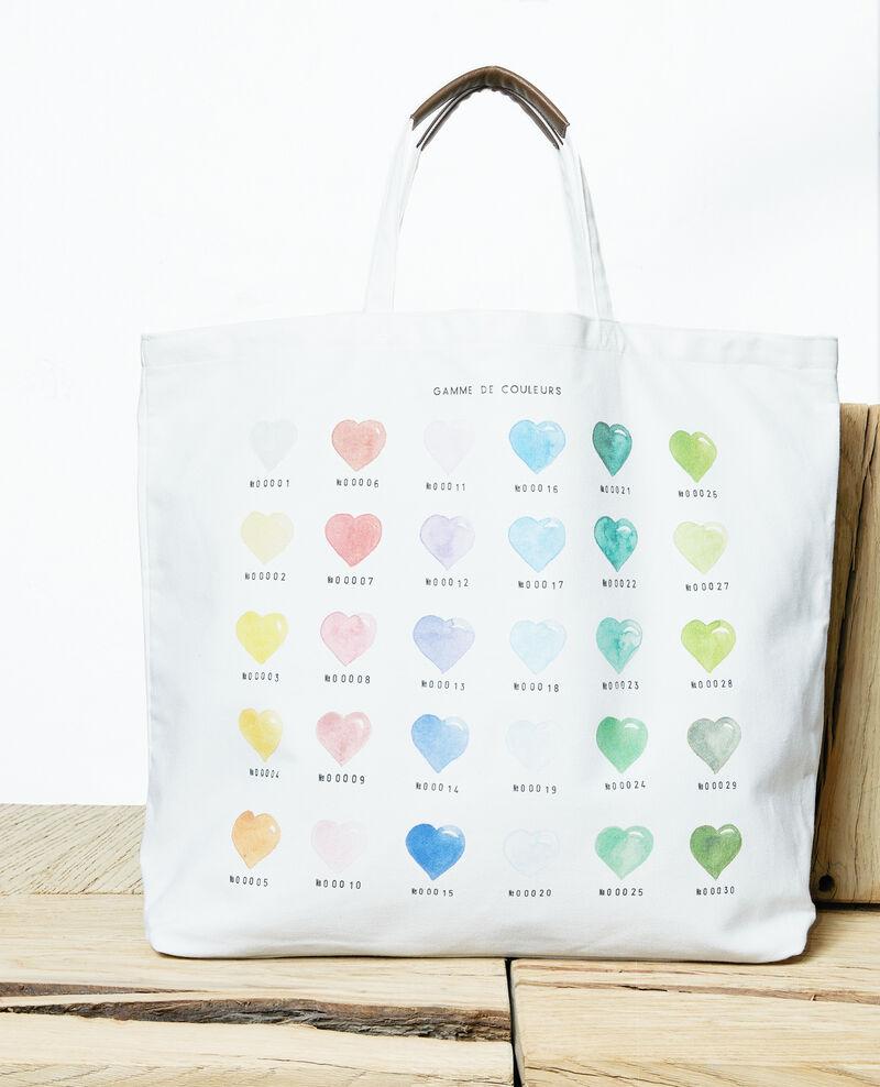 Large tote bag Coeur multi Itote