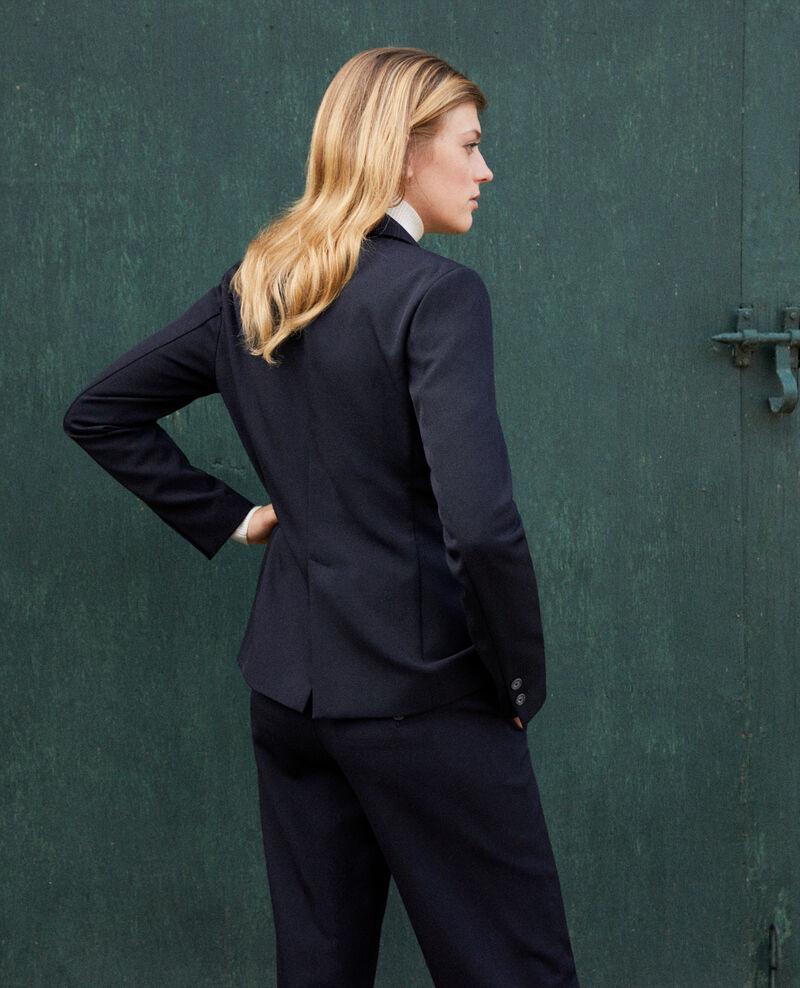 Tailored blazer Dark navy Joubarbe
