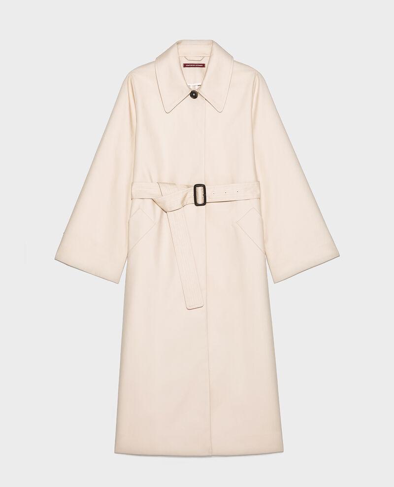 Cotton overcoat  Smoke gray Locky