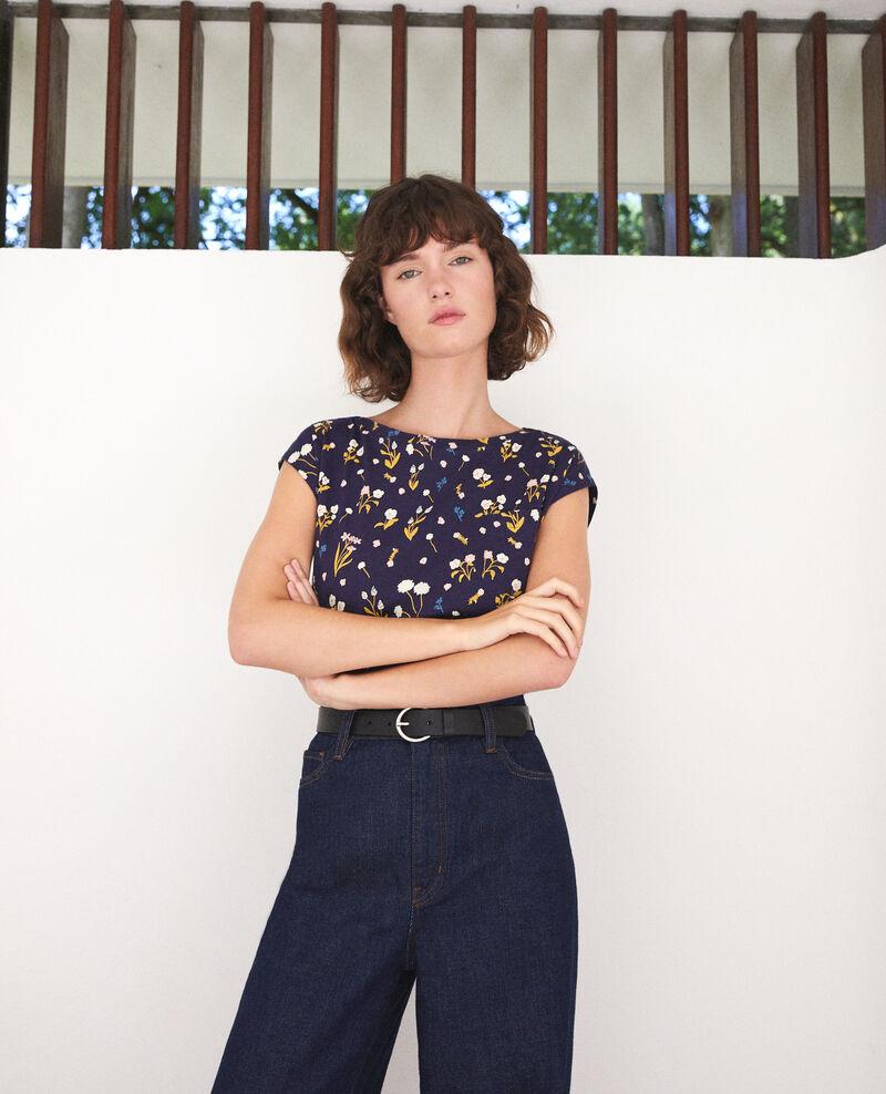 Cotton t-shirt  Blue Ginolita