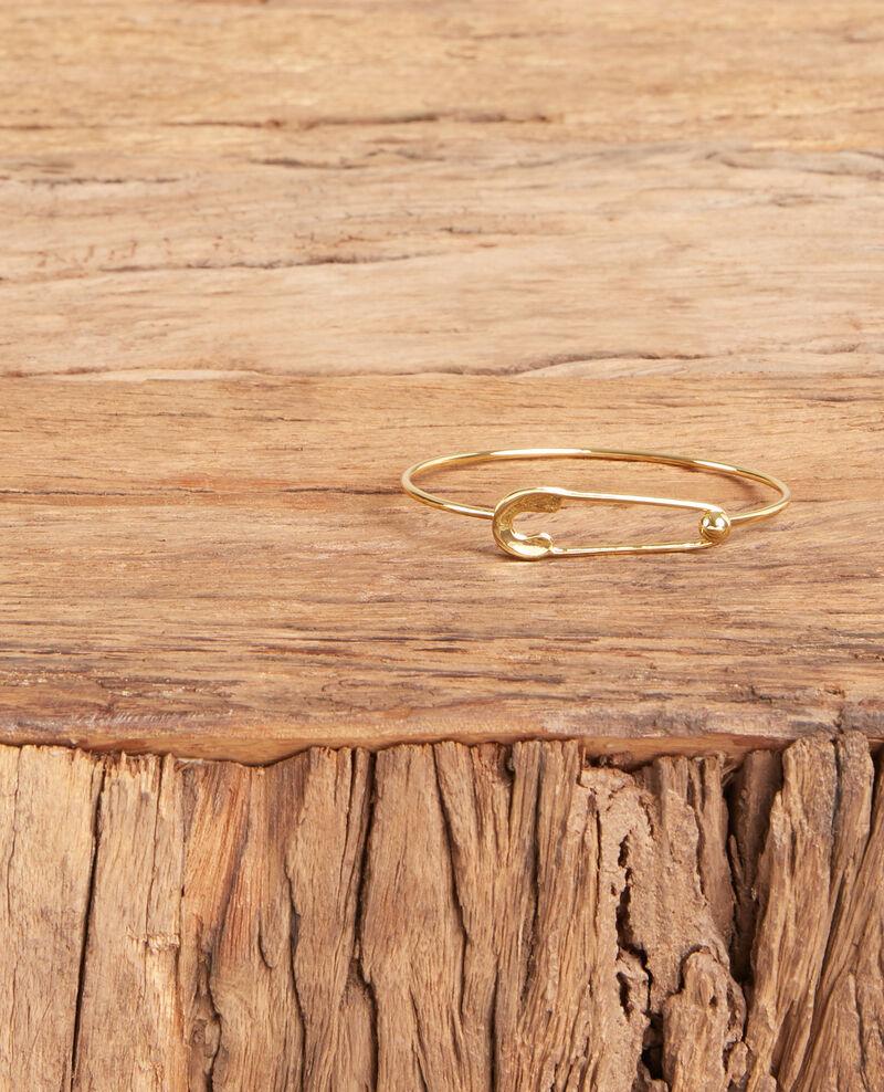 Safety pin bracelet Gold Formidable