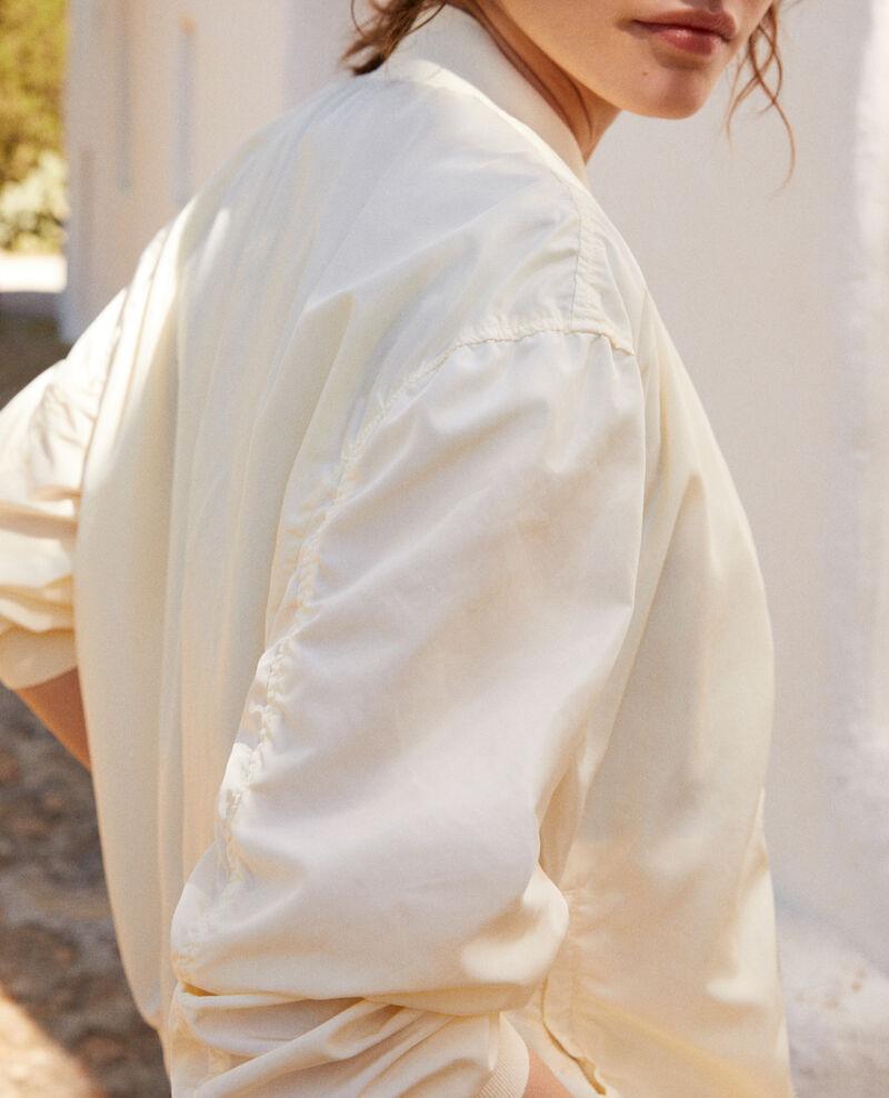 Waterproof bomber-style jacket Blanc Illica
