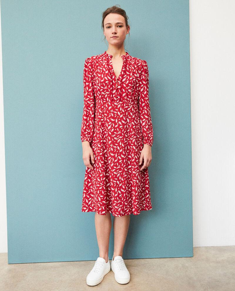 Tunic dress Earth red Gaetane