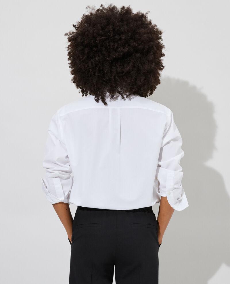 Cotton boyfriend shirt Optical white Lynda
