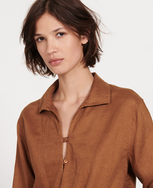 Linen blouse MONKS ROBE