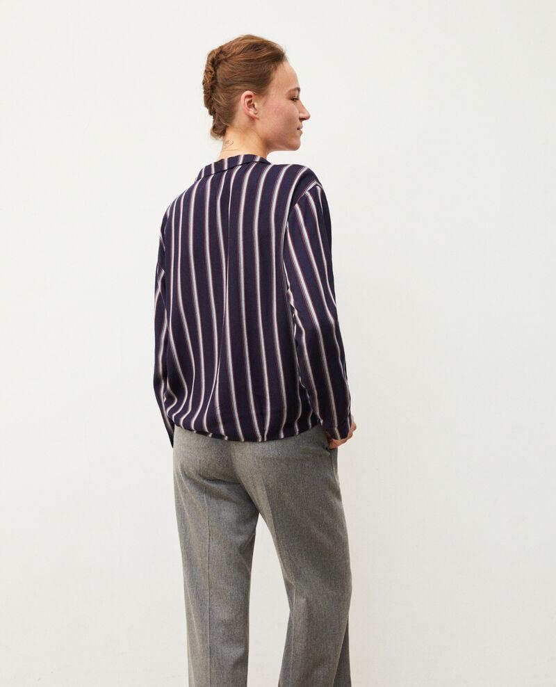 Pyjama-style shirt Blue Gladys