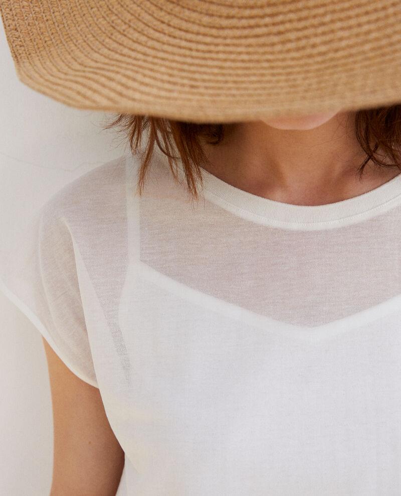 Classic t-shirt Off white Idele