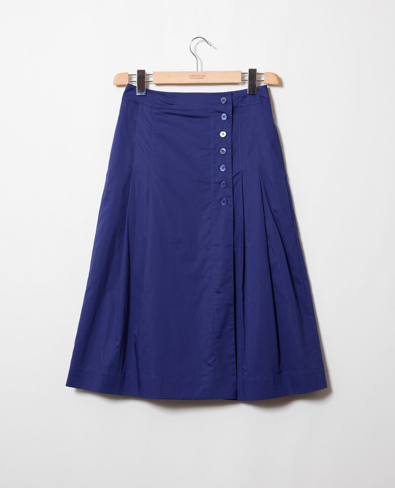 Cotton wrapover skirt Astral aura Jilette