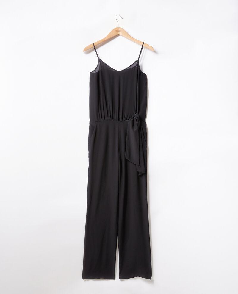 Loose jumpsuit Noir Felicie