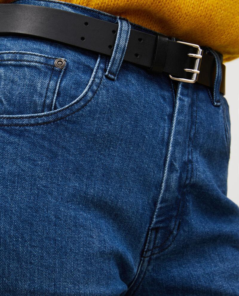 SLIM STRAIGHT - Straight bleached jeans Denim medium wash Linneou