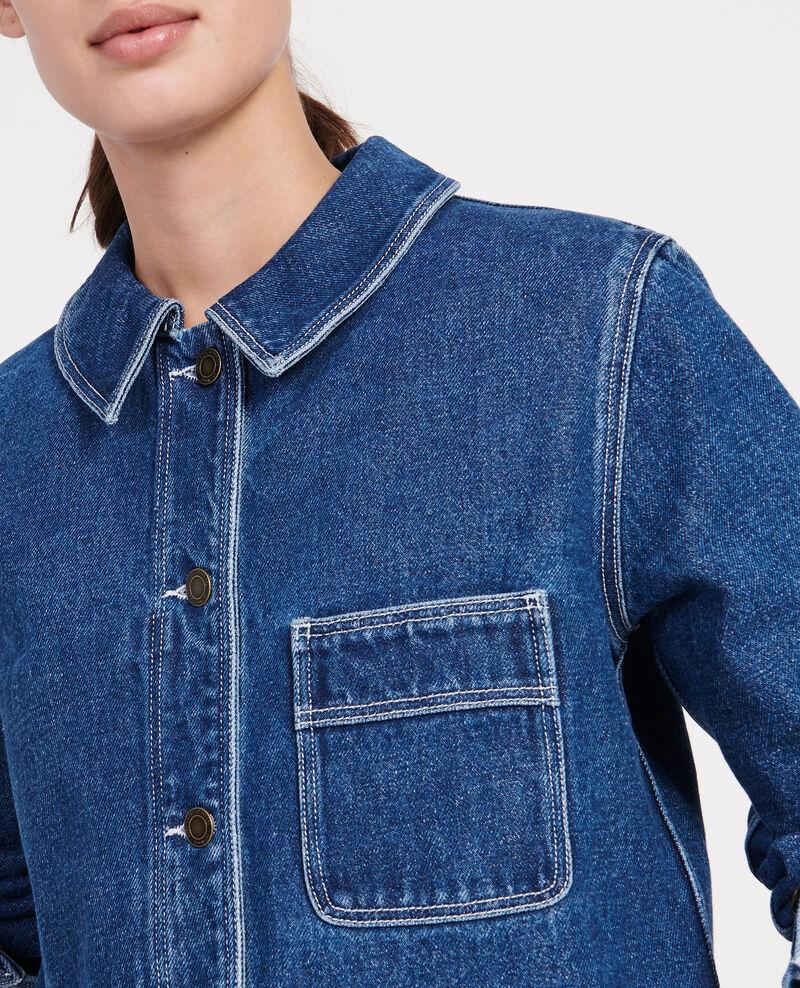Denim jacket Denim vintage wash Lalon