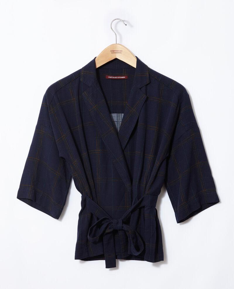 Belted shirt Blue Guida