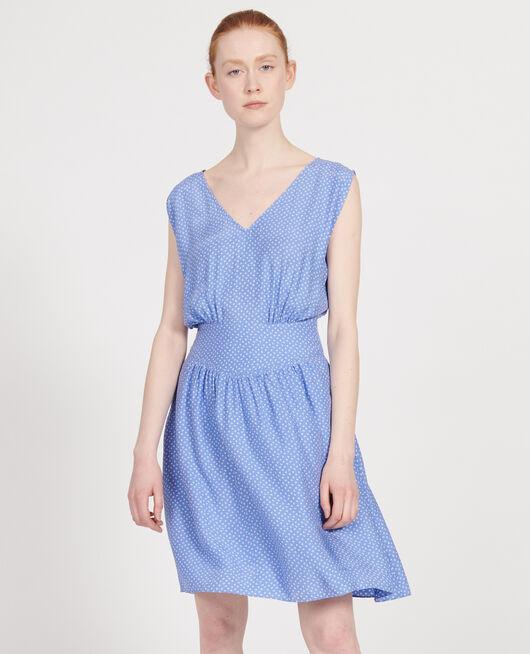 Silk dress MEMPHIS PERSIAN JEWEL