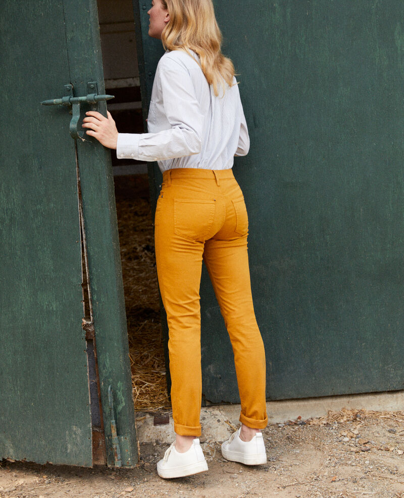 Slim fit jeans Golden brown Jilineto