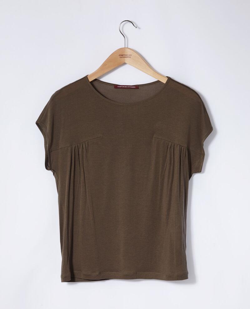 Round neck t-shirt Olive night Gaillet
