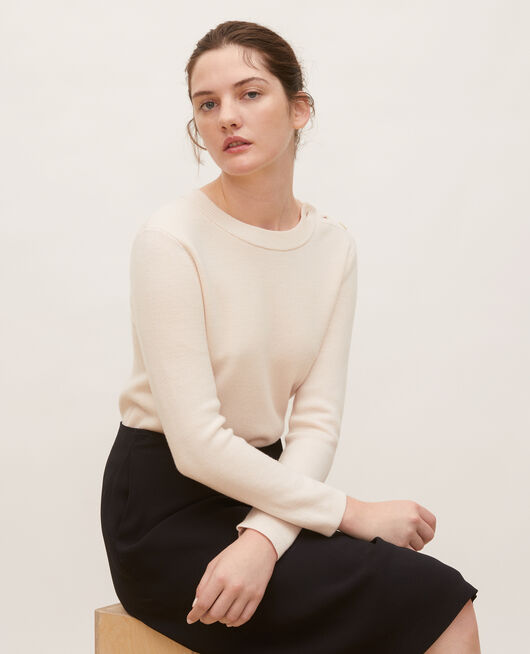 Striped wool jumper GARDENIA