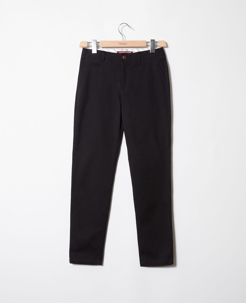 Straight-leg trousers Noir Jino