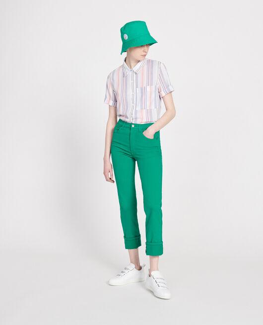 Straight-leg trousers GOLF GREEN