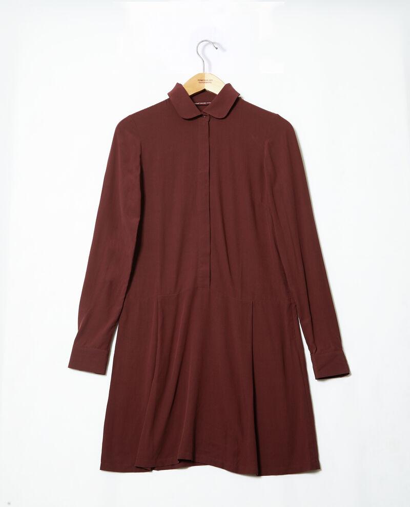 Robe coupe droite Brown 9giorgo