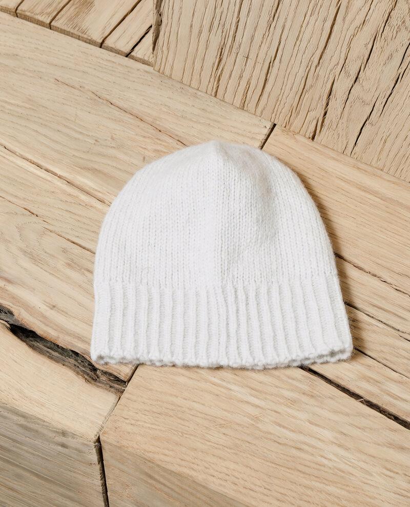 Knit beanie White Glagla