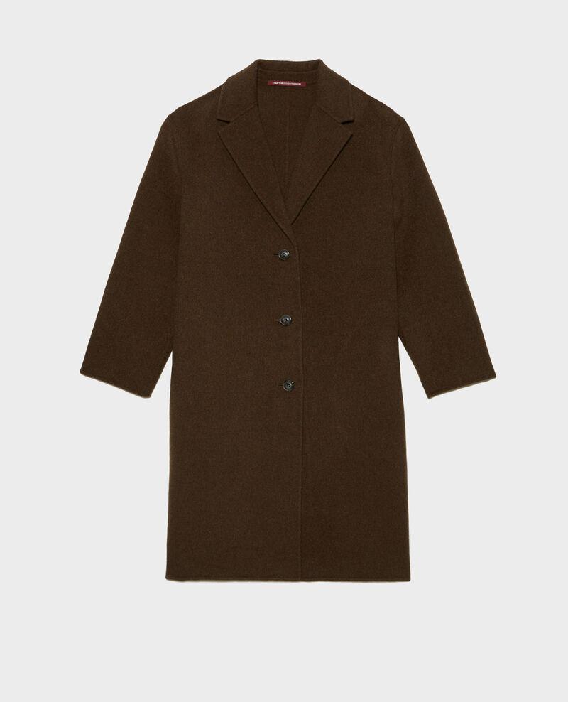 Wool coat Kaki Maclas