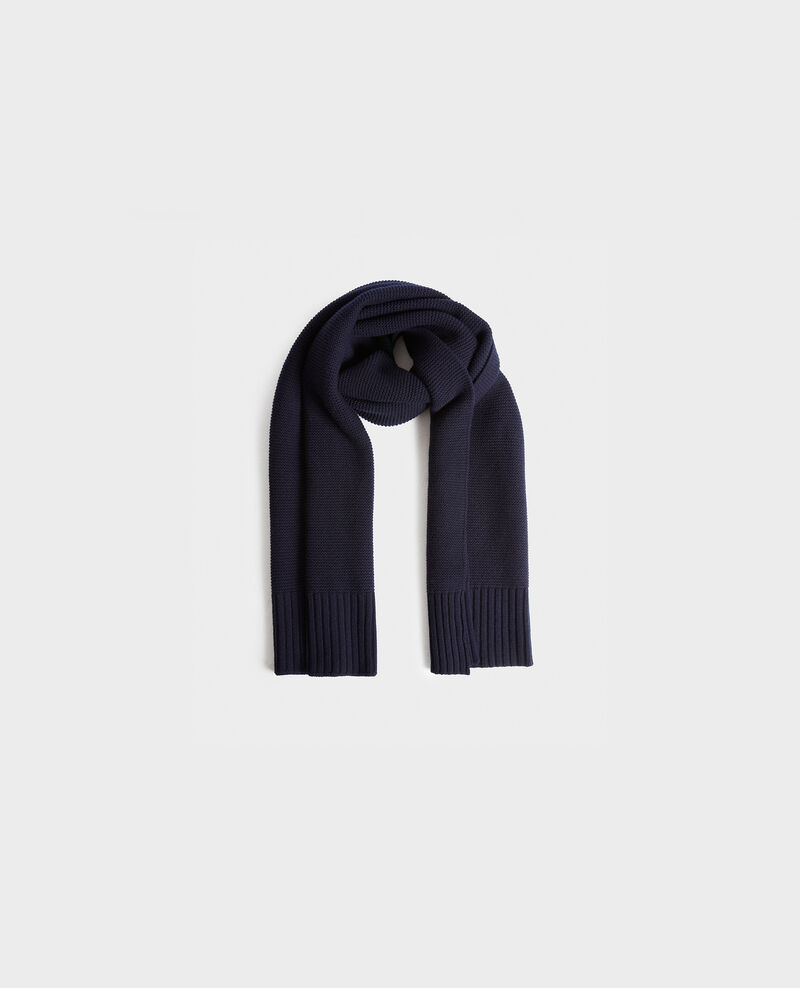 Long wool scarf Night sky Moiron