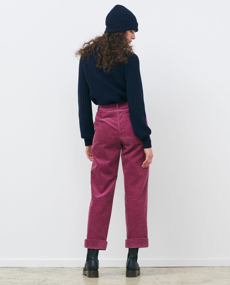 Wide corduroy trousers Damson Maora