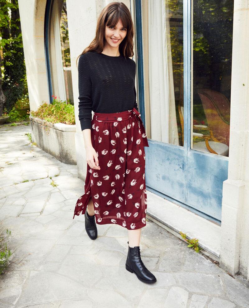 Wrap skirt Tulip cabernet Jaude