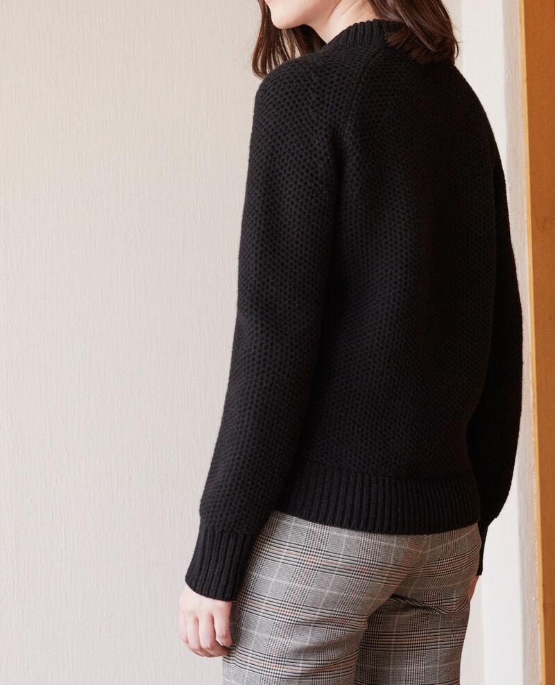 Wool jumper Noir Ginseng