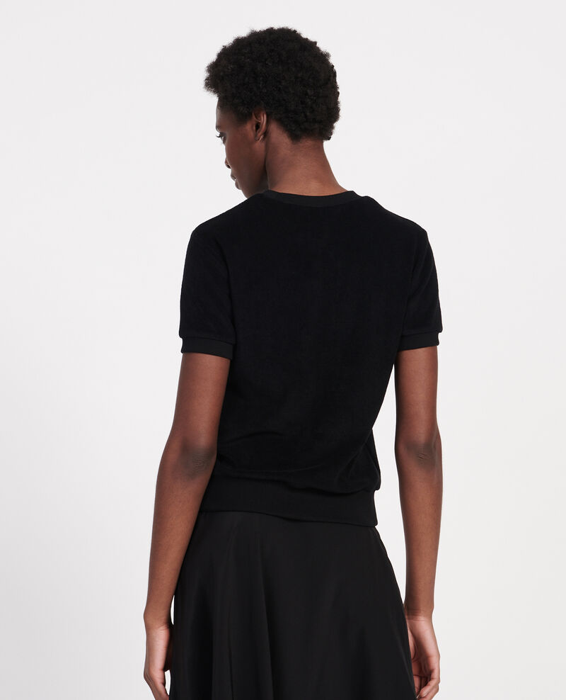 Cotton T-shirt Black beauty Lis