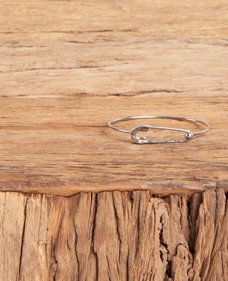 Safety pin bracelet Silver Formidable